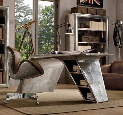 Online Interior Decorating on Aviator Desk New At Interior Design Online   Viking Aviation  Termina