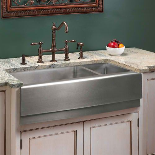 stainless farmhouse sink Decor - Farmhouse Sinks Pinterest