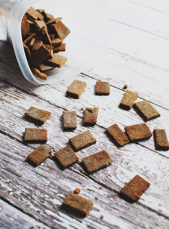 Almond-Coconut Flour Dog Treats: for dogs who can't have gluten, grains, eggs, or dairy