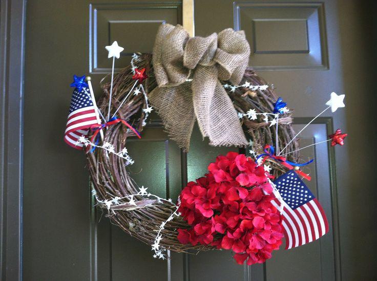 diy july 4th wreaths