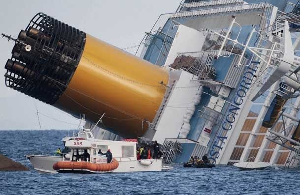 Costa Concordia Cruise Ship Disaster | Cruise Ships | Pinterest