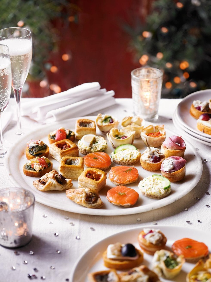 Christmas canap s christmas pinterest for Christmas canape ideas