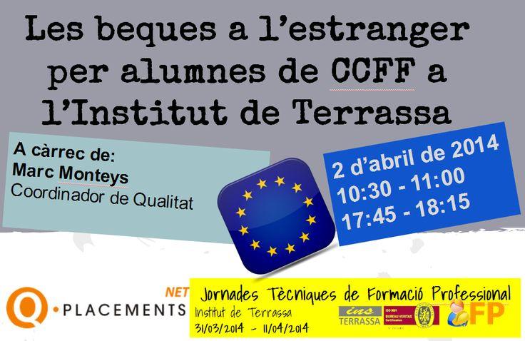 Beques a l'estranger per alumnes de CCFF a l'Institut de Terrassa