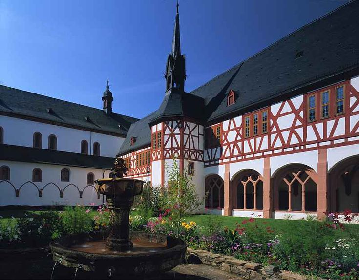 Eltville Germany  City pictures : Eberbach Monastery, Eltville, Hesse, Germany ~ djtravel.homestead