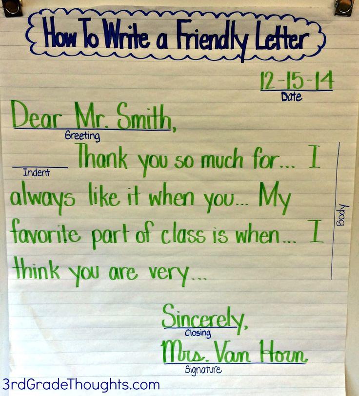 Formal letter format grade 4 spiritdancerdesigns Images