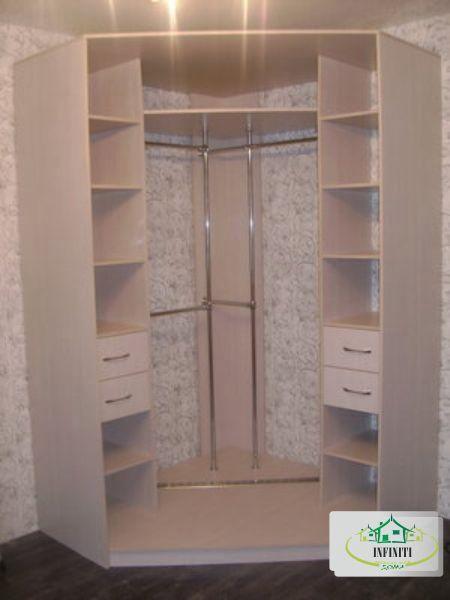Угловые шкафы в спальню своими руками