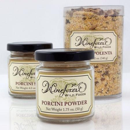Wild-foraged Porcini Polenta, Porcini Salt, and Porcini Powder - $34 ...