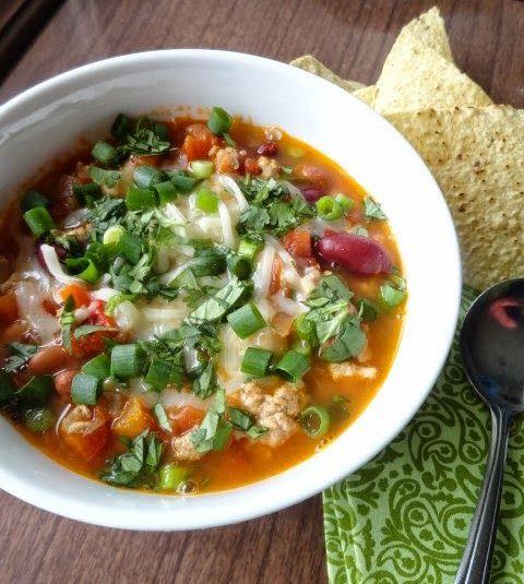 Three-Bean Turkey Chili | Favorite Recipes | Pinterest