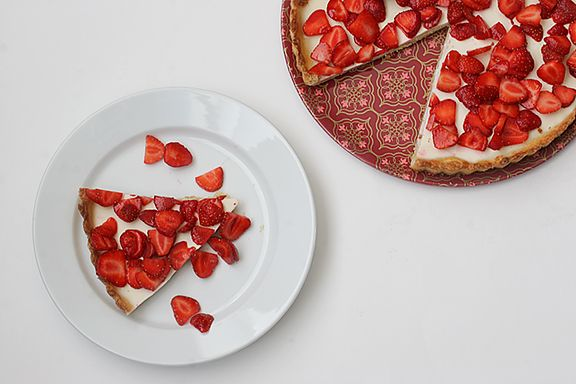 Taste and Tell | Strawberries-and-Cream Tart | Taste and Tell