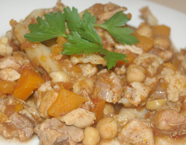 Moroccan Chicken & Chick Pea Stew | Soup, Stew, and Chili For All | P ...