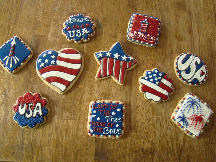 cookies for july 4th