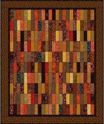 Quilt Patterns Using 6 Strips : Strips Quilt Pattern