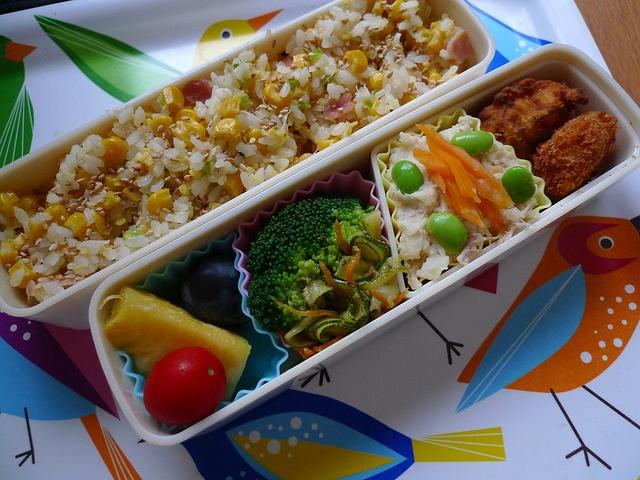 Rice - Tomato - Pineapple & Grape - Broccoli and Zucchini - Potato ...