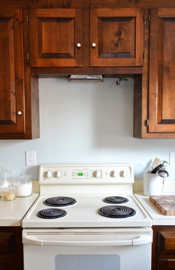 Convert Countertop Microwave To Over Range : Hood... There It Is!