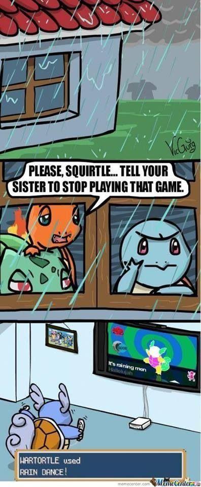 rain dance pokemon x