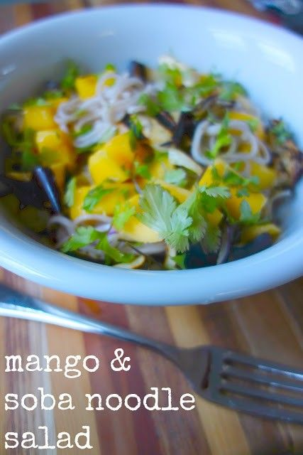 Mango and soba noodle salad from Gourmet Chick & Yotam Ottolenghi ...
