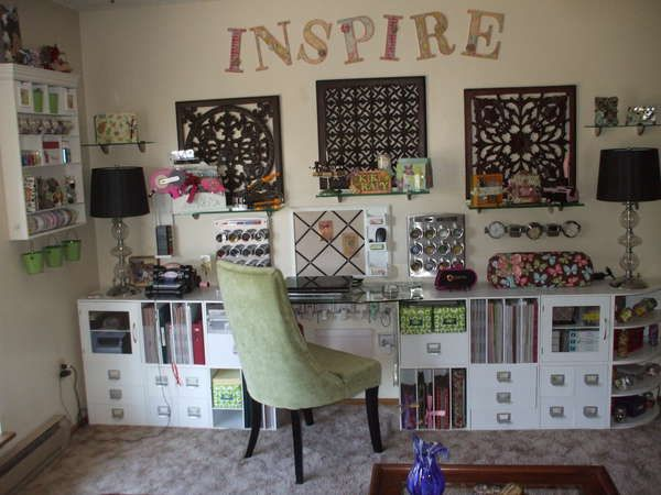 Scrapbook Organization Room Ideas Craft Rooms Pinterest