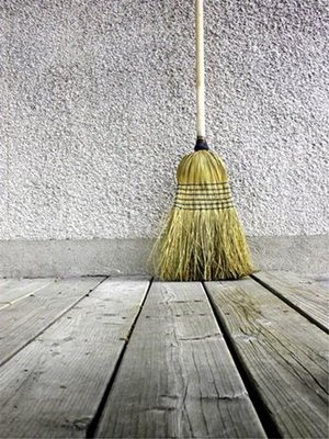 broom on wood floor against a wall  cool photography  Pinterest
