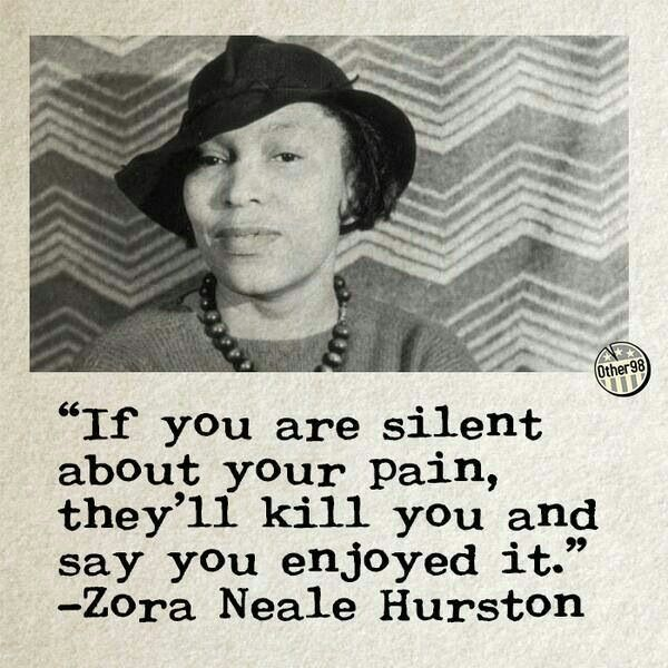 zora neale hurston quote just one more page pinterest