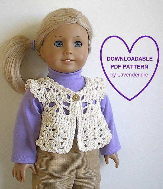 Crochet Patterns American Girl Doll : Crochet American Girl Doll Pattern by Lavenderlore for 18 Doll ...