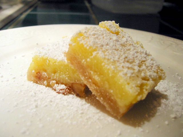 Low Fat Lemon Squares with Walnut Crust « Baking Bites