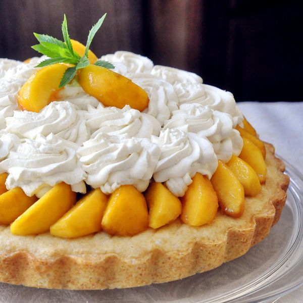 Brandy Peach Shortcake | Fruit and Fruity | Pinterest