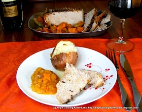 ... Cooking Adventures: Crockpot Pork Roast with Apples & Sweet Potatoes