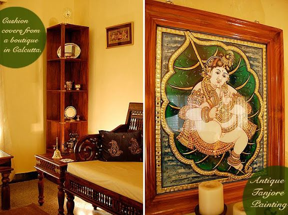 Artnlight divya vijay 39 s home in ranchi inspiring for Beautiful home decor items