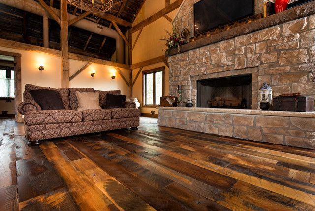 Barn Wood Flooring The House Pinterest