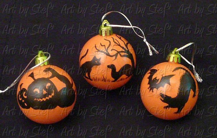 Halloween Ornaments Christmas Pinterest