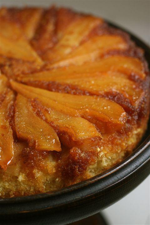 Pear Upside-Down Cake | Upside-Down Cake | Pinterest