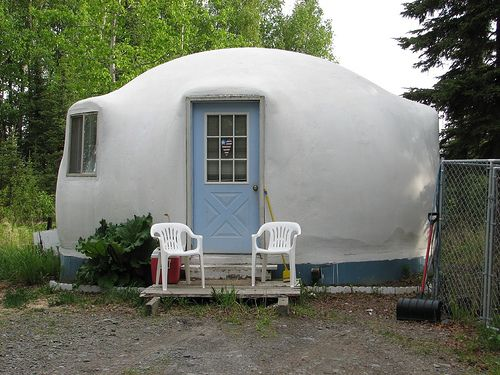 In A Dome Home Tiny Houses Pinterest