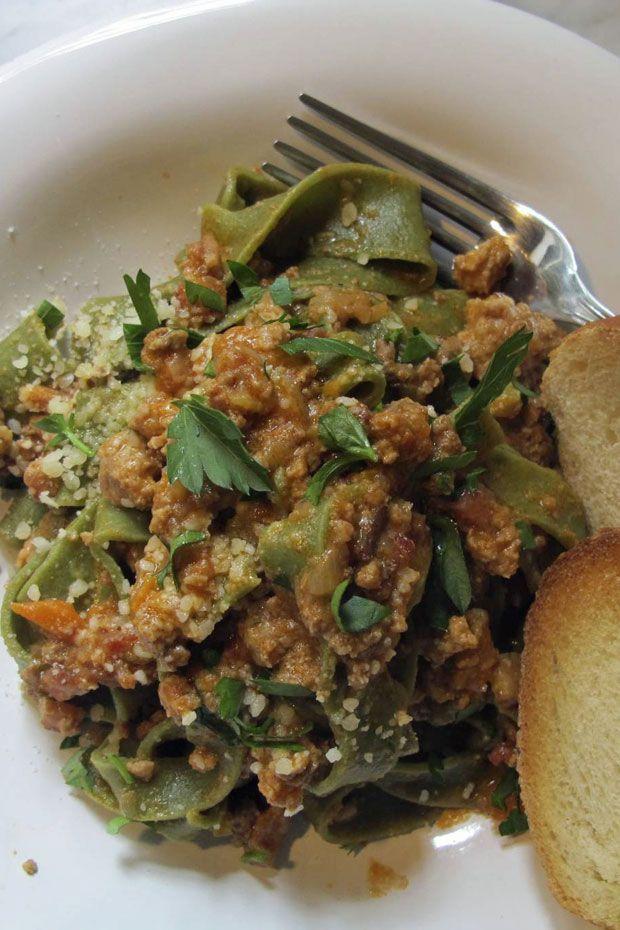 Fettuccine bolognese | Eat | Pinterest