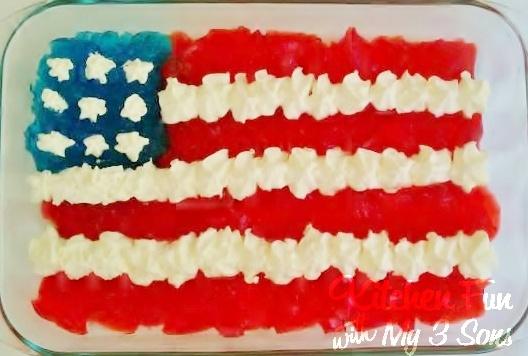4th july desserts jello cake