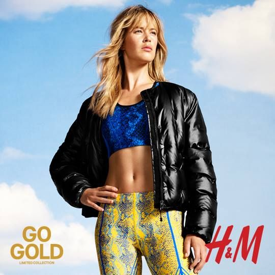Richard Phibbs photographed H&M's new Go Gold limited collection