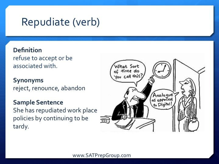 repudiate - DriverLayer Search Engine  Repudiate Meaning