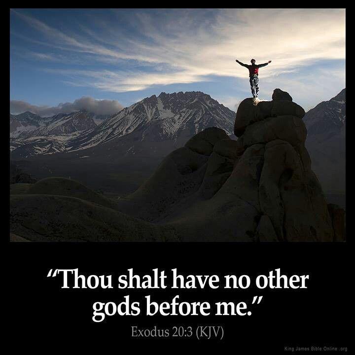 exodus 20 3 quotes adages biblical