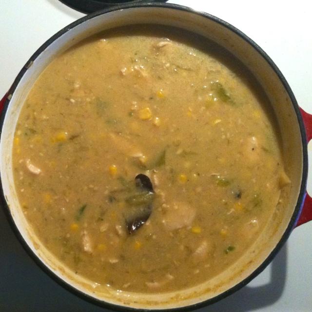 Green Chile And Chicken Stew Recipe — Dishmaps