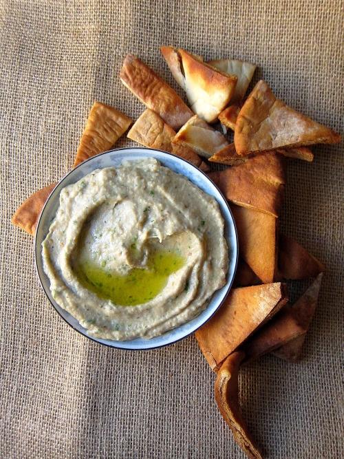 Baba Ghanoush (Eggplant Dip) | Preserves and Home Goods | Pinterest