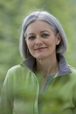 How to Transition from Dyed to Natural Gray Hair Color. Just what mom ...