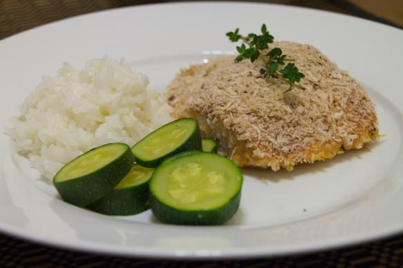 Seafood Recipes : Panko-Crusted Salmon with Honey-Mustard Glaze