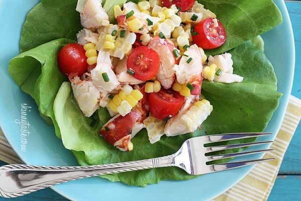 Chilled Lobster Salad with Sweet Summer Corn and Tomatoes from ...