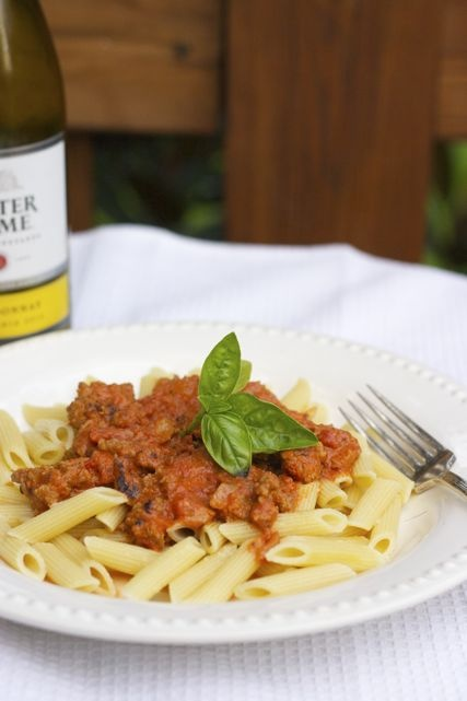 Pasta with Vodka Sauce and Sausage   Recipe