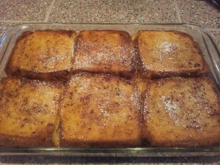 French toast bake | quick meals | Pinterest