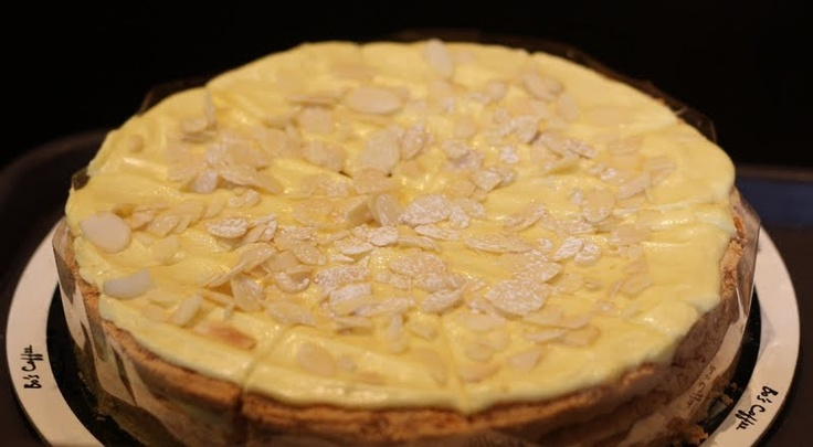 Almond Torte from Bo's Coffee