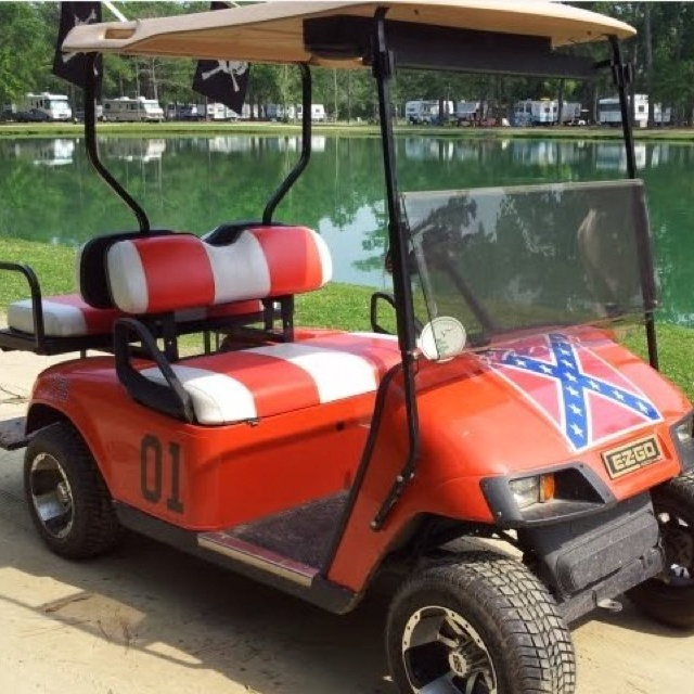 Maserati Golf Cart >> Redneck Golf Cart