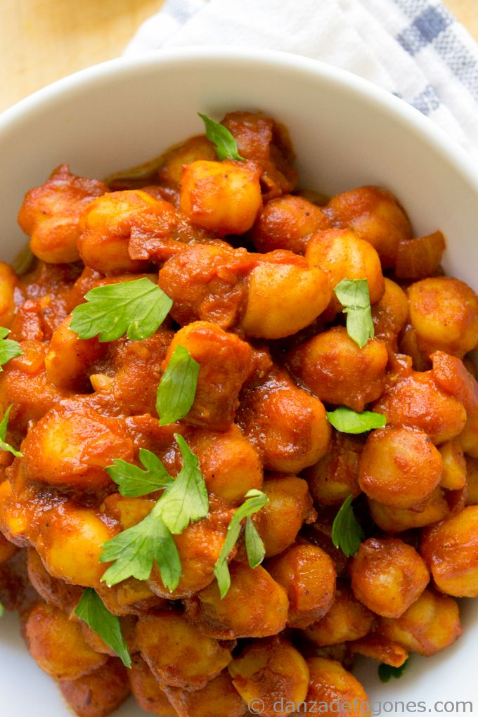 Chana masala is a spicy and tasty Indian dish. Really healthy recipe ...
