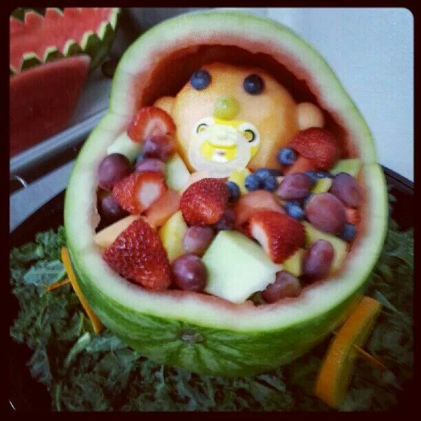 baby shower watermelon boat baby shower ideas pinterest