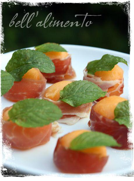 Prosciutto e Melone (Melon wrapped in Prosciutto) | Recipe
