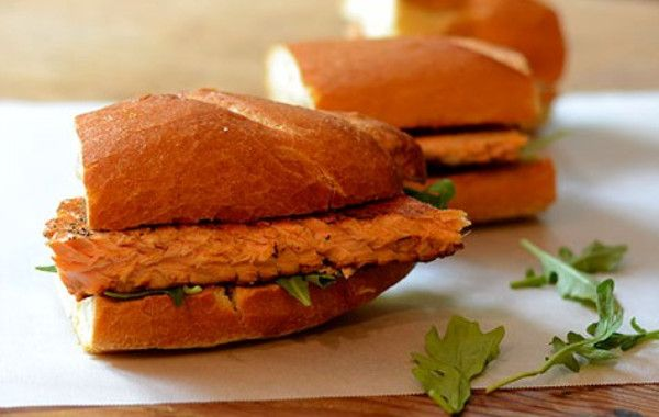 Feed Your Soul Too: Blackened Salmon Sandwich